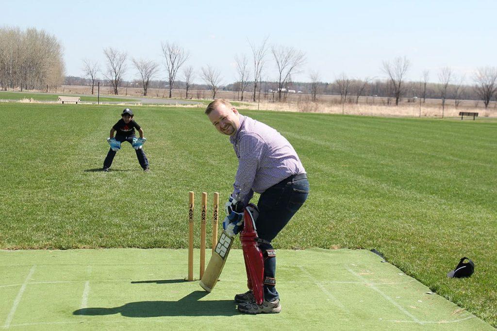Cricket in Orléans